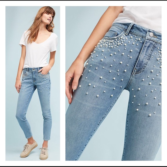 2f4f293cc27e3f Anthropologie Jeans | Pilcro And The Letterpress Highrise Skinny ...
